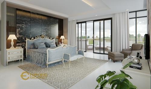 Desain Interior Desain Rumah Modern Tropis 3 Lantai Bapak Boy