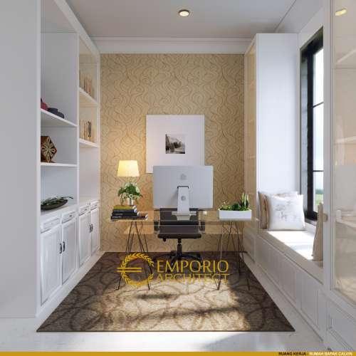 Interior Design Mr. Calvin Classic House 3 Floors Design - Jakarta