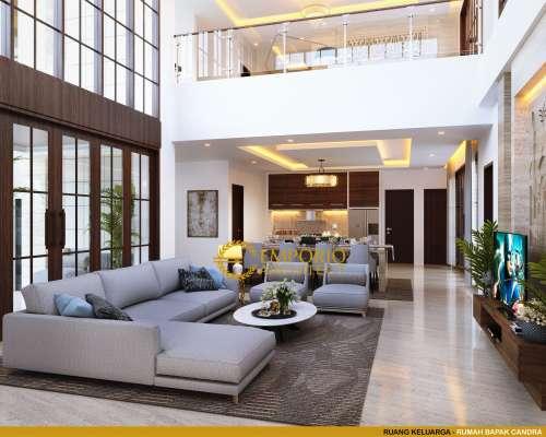 Desain Interior Desain Rumah Villa Bali 2 Lantai Bapak Chandra