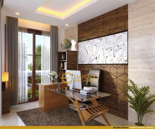Interior Design Mr. Chandra Villa Bali House 2 Floors Design - Jakarta