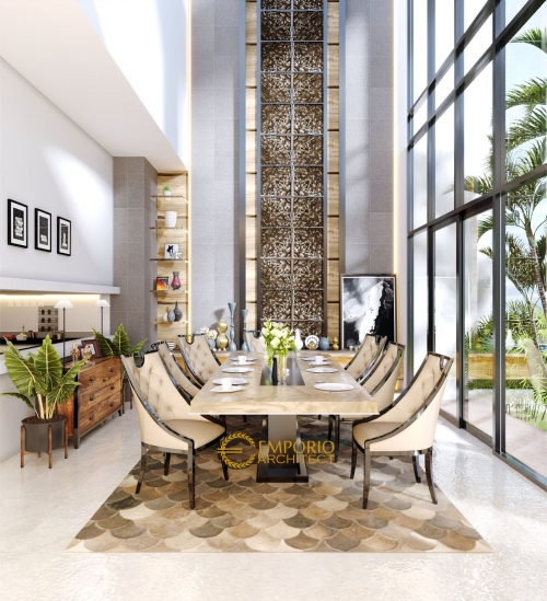 Interior Design Mr. Frangky Modern House 2 Floors Design - Jakarta