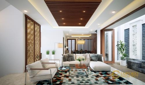 Interior Design Mr. Hari Santoso Villa Bali House 2.5 Floors Design - Jakarta