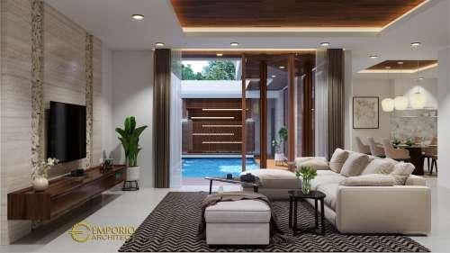 Interior Design Mr. Henry Modern House 2 Floors Design- Jakarta