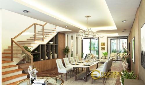 Desain Interior Desain Rumah Modern 3 Lantai Bapak James