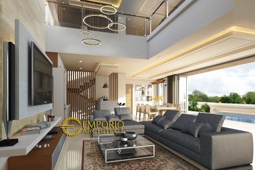 Interior Design Mr. Kris Villa Bali House 4 Floors Design - Jakarta