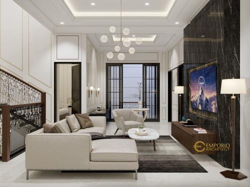 Interior Design Mrs. Elsyah Modern House 2 Floors Design - Jakarta