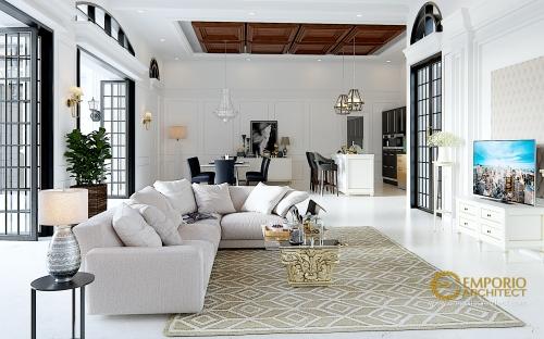 Desain Interior Desain Rumah Classic 1 Lantai Bapak Taruna