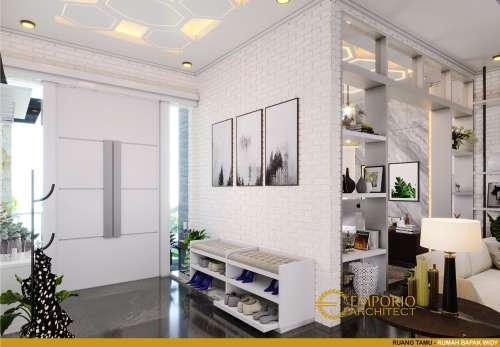 Interior Design Mr. Widy Modern House 3 Floors Design - Jakarta