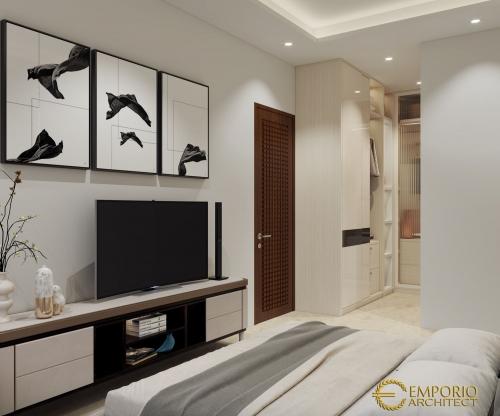 Interior Design Mr. Zulkarnaen Villa Bali House 1.5 Floors Design - Jakarta
