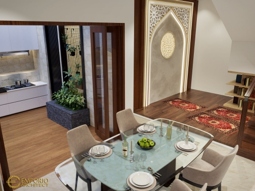 Desain Interior Desain Rumah Villa Bali 1.5 Lantai Bapak Zulkarnaen