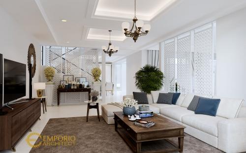 Desain Interior Desain Rumah Mediteran 2 Lantai Ibu A