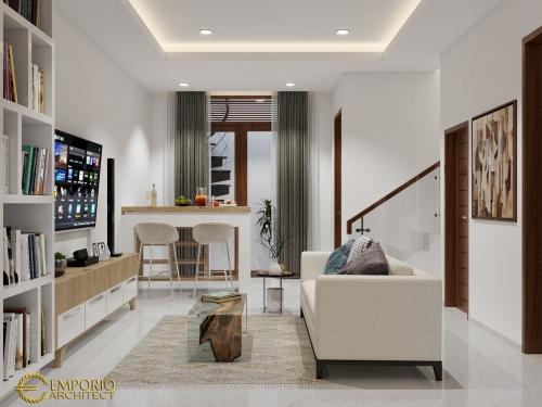 Desain Interior Desain Rumah Modern 2 Lantai Ibu Ayu