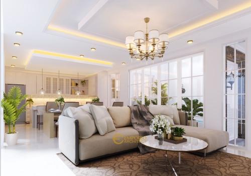 Interior Design Mr. Sutedjo Classic House 3 Floors Design - Jakarta