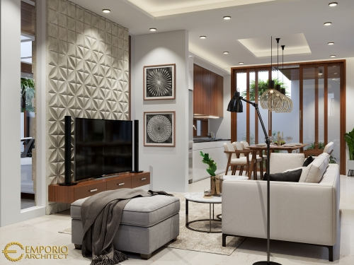 Interior Design Mrs. Frieza Modern House 2 Floors Design - Jakarta