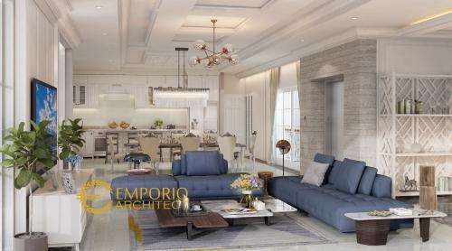 Desain Interior Desain Rumah Hook Classic 3 Lantai Ibu Jennifer