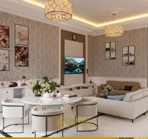 Interior Design Mrs. Maya Classic House 2 Floors Design - Jakarta