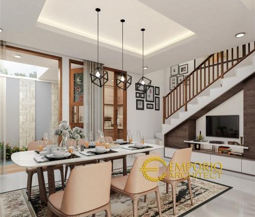 Desain Interior Desain Rumah Modern 2 Lantai Ibu Poppy