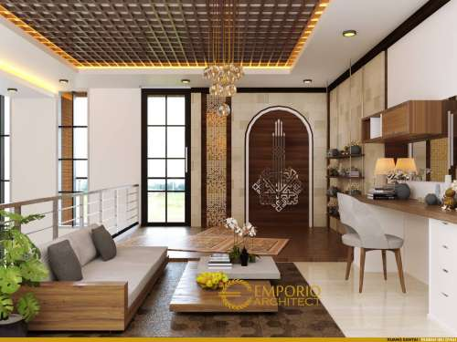 Interior Design Mrs. Dyah Modern House 2 Floors Design - Jakarta