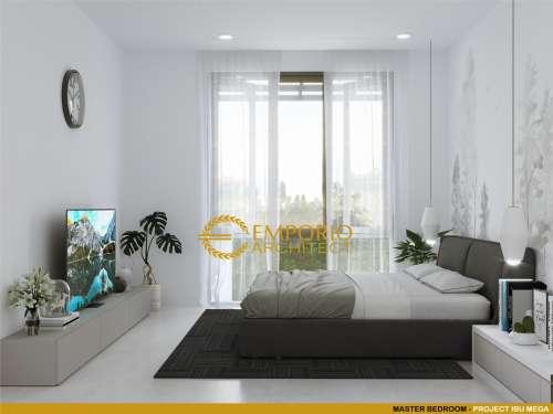 Interior Design Mrs. Mega Modern House 2 Floors Design - Jakarta