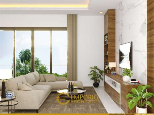 Interior Design Mr. Bambang Modern House 3 Floors Design - Jakarta
