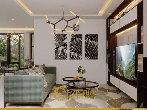 Interior Design Mrs. Melly Modern House 3 Floors Design - Jakarta