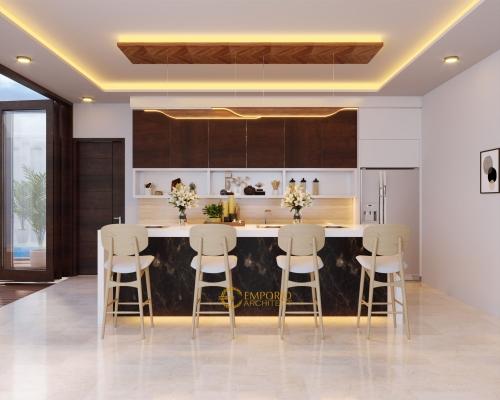 Interior Design Mr. Arif Villa Bali House 2.5 Floors Design - Jakarta Selatan