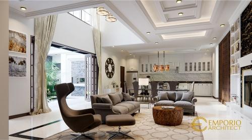 Interior Design Mr. Ito Classic House 2 Floors Design - Jakarta Selatan