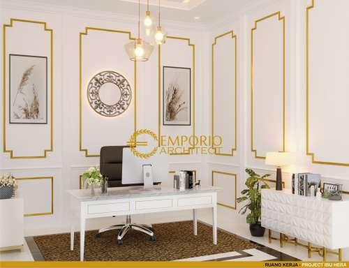Interior Design Mrs. Hera Classic House 2 Floors Design - Jakarta Selatan