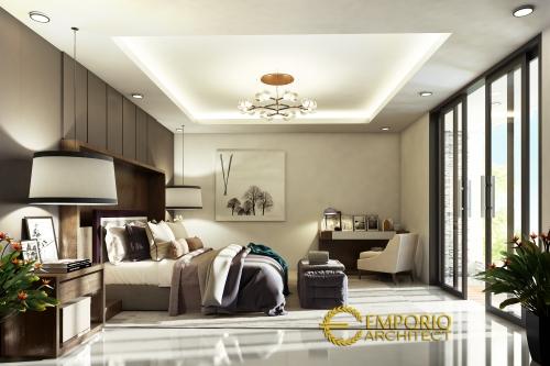 Desain Interior Desain Rumah Modern Tropis 3 Lantai Ibu Niken