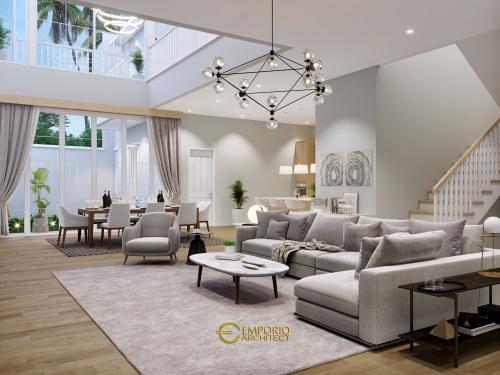 Interior Design Mrs. Quisty Modern House 2 Floors Design - Jakarta Selatan