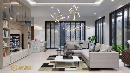 Interior Design Mr. Boyke Modern House 2 Floors Design - Jakarta Timur