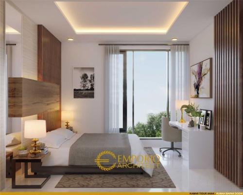 Desain Interior Desain Rumah Modern 2 Lantai Bapak Dodik