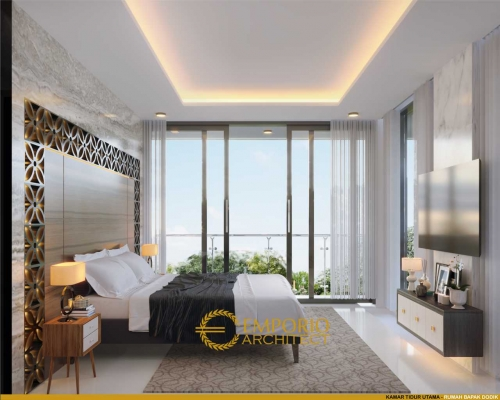 Interior Design Mr. Dodik Modern House 2 Floors Design - Jakarta Timur