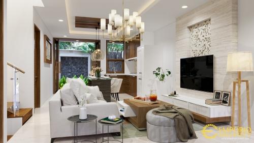 Desain Interior Desain Rumah Villa Bali 2 Lantai Bapak Frenky