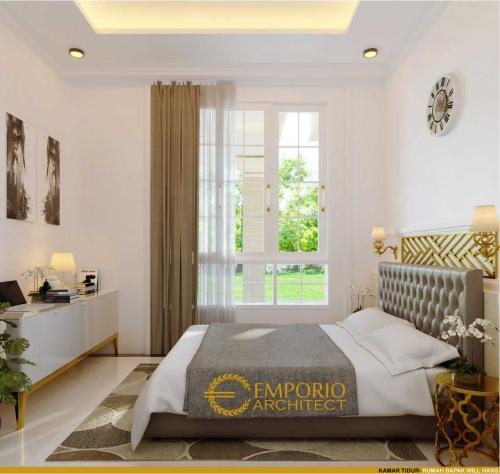 Interior Design Mr. Will Hans Classic House 3 Floors Design - Jakarta Timur