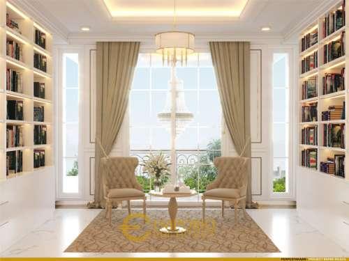 Interior Design Mr. Biladil Classic House 2 Floors Design - Jakarta Timur