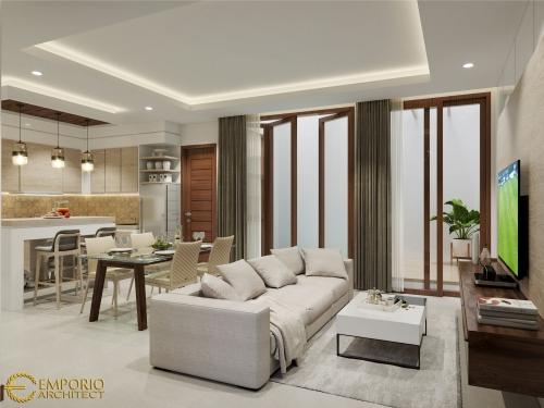 Desain Interior Desain Rumah Modern 2 Lantai Ibu Veny