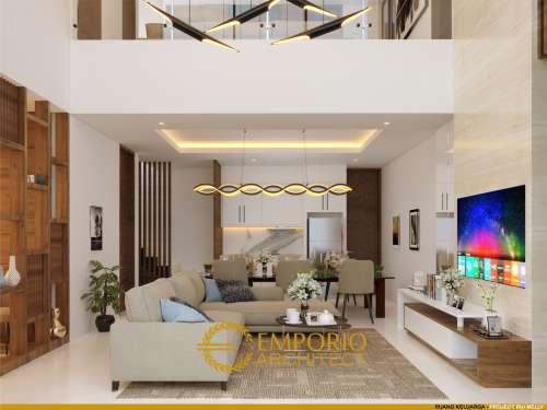 Desain Interior Desain Rumah Hook Modern 2 Lantai Ibu Melly