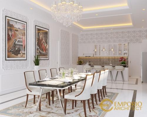 Interior Design Mr. Agus Mediteran House 1 Floor Design - Jambi