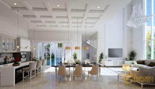 Interior Design Mr. Tony Classic House 2 Floors Design - Jambi