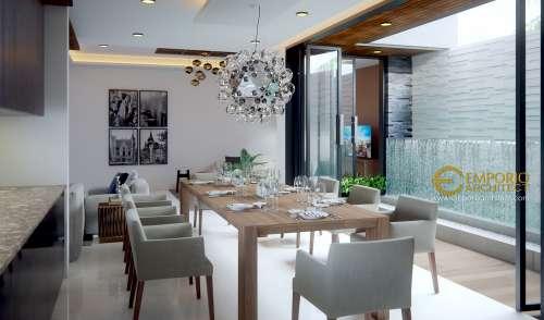 Desain Interior Desain Rumah Modern 2 Lantai Ibu Johana