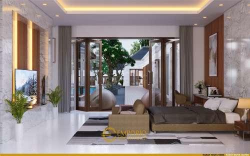 Interior Design Mr. Taufan Villa Bali House 1 Floor Design - Jember, Jawa Timur