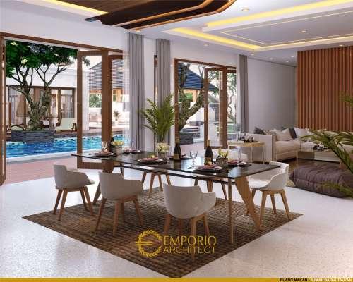 Desain Interior Desain Rumah Villa Bali 1 Lantai Bapak Taufan