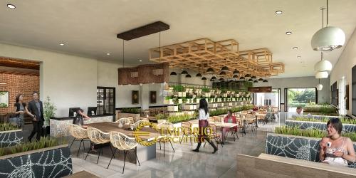 Interior Design Mr. Ahmad Modern Restaurant 1 Floor Design- Karawang, Jawa Barat