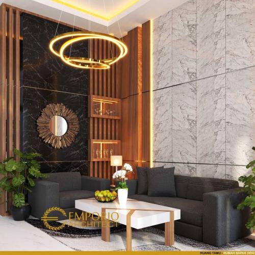 Desain Interior Desain Rumah Modern 2 Lantai Bapak Deni
