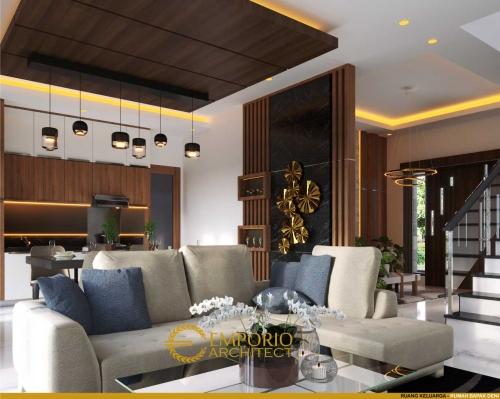 Interior Design Mr. Deni Modern House 2 Floors Design - Karawang, Jawa Barat