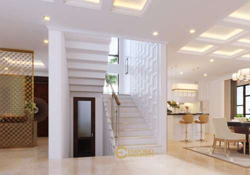 Interior Design Mr. Neeraj Villa Bali House 3 Floors Design - Kathmandu, Nepal