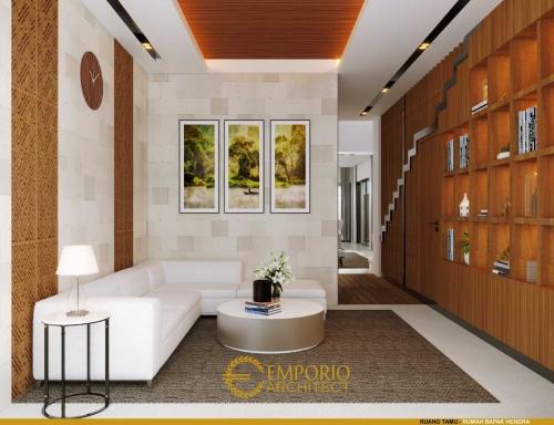 Interior Design Mr. Hendra Modern House 2 Floors Design - Kediri, Jawa Timur