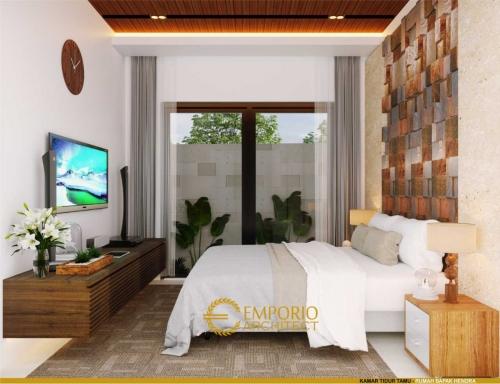 Desain Interior Desain Rumah Modern 2 Lantai Bapak Hendra