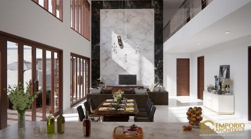 Desain Interior Desain Rumah Villa Bali 2 Lantai Bapak Yudi